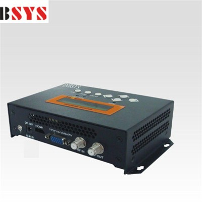 EMH6500 Compact Single AV MPEG-2 ISDB-T Modulator