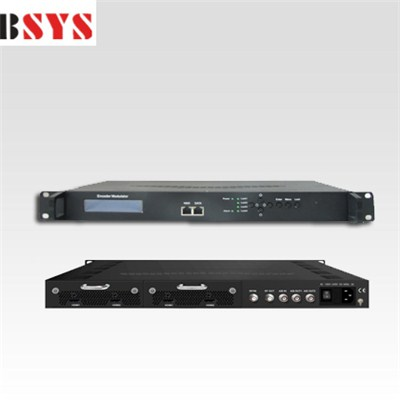 EMH3410C Compact Single MPEG2/H.264 HD DVB-C Modulator