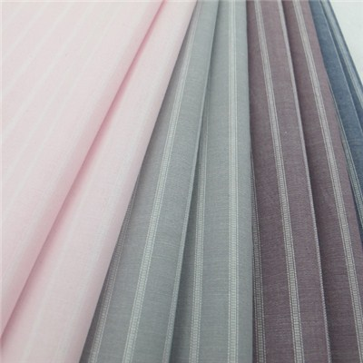 100% Cotton Yarn Dyed Stripe Shirt Fabric