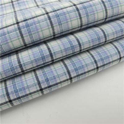 100% Cotton Yarn Dyed Woven Gingham Fabric