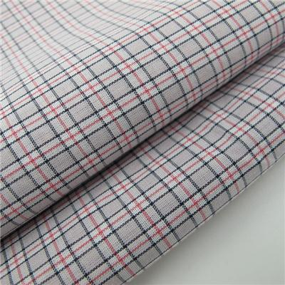 Yarn Dyed Check Shirting Fabric Light Weight