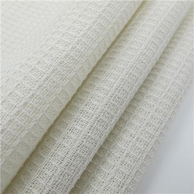 Wholesale Cotton White Fabric Dobby Design