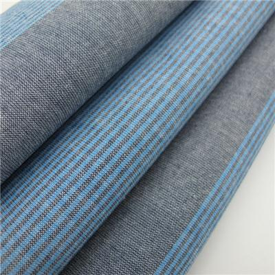 100% Cotton Yarn Dyed Stripe Fabric