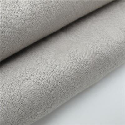 100% Cotton Jacquard Fabric Solid Color