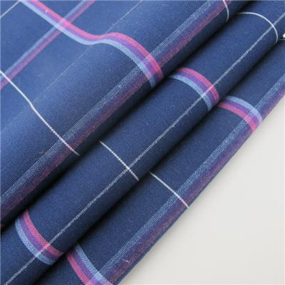 Yarn Dyed Cotton Woven Fabric Check Design