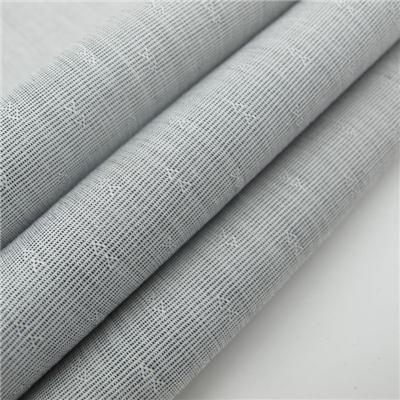 100% Cotton Yarn Dyed Jacquard Slub Fabric