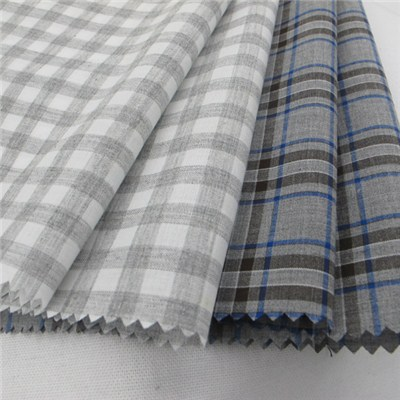 100% Cotton Yarn Dyed Woven Fabric For Shirt