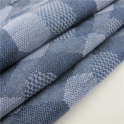 Combed Cotton Jacquard Fabric