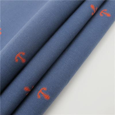 100% Cotton Jacquard Shirting Fabric Cutting Pile