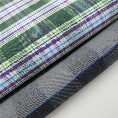 Wholesale Cheap Yarn Dyed Check Fabric