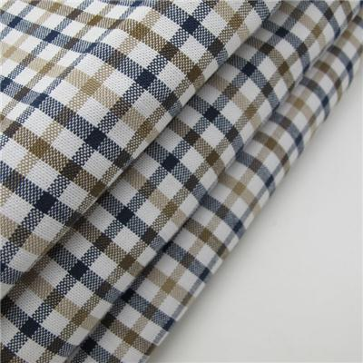Yarn Dyed Oxford Check Fabric