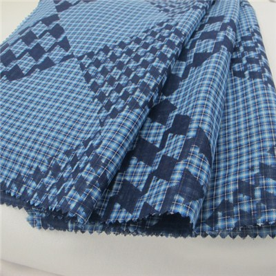 100% Cotton Double Layer Jacquard Fabric