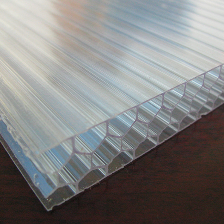 High quality polycarbonate honeycomb hollow sheet