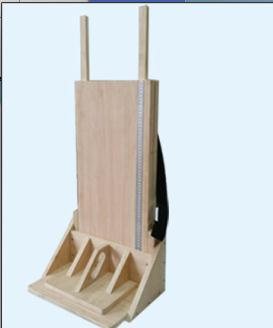 Height Length Board Wooden Scale