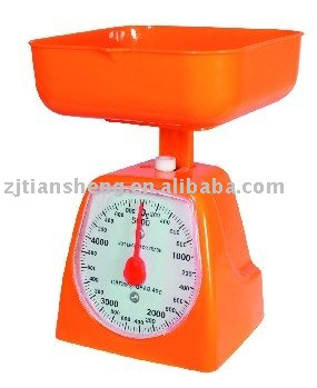 Plastic Kitchen Scale TS-705