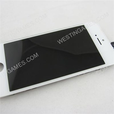 Lcd Screen Display With Touch Screen Digitizer Assembly For iPhone 5 5G - White (OEM)
