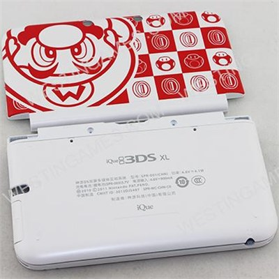 Original Housing Shell Case Replacement Part For 3DS LL/XL - Mario Limited Edition White-Red