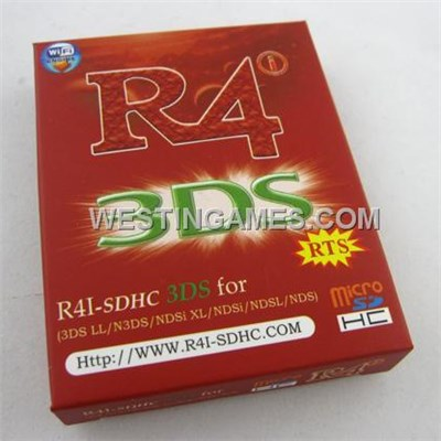 R4I-SDHC RTS Flash Card Red For NDSL/DSi/DSi Xl/ 3DS (Small Packing)