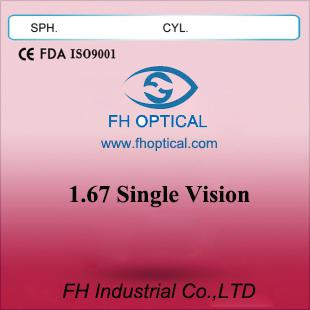 1.67Single Vision Eyeglass Lens (ASP)