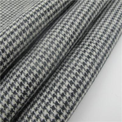 Yarn Dyed Houndstooth Polar Fleece Fabric
