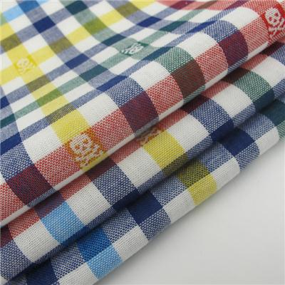 2 Ply Jacquard Fabric 100% Cotton