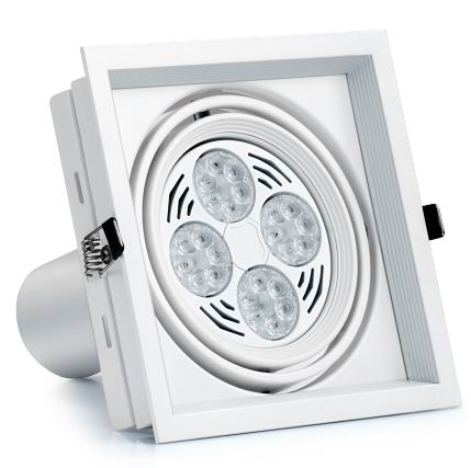 Dimmable LED Recessed Grille Light