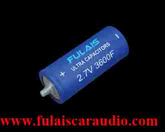 2.7V 3600F power ultra capacitor