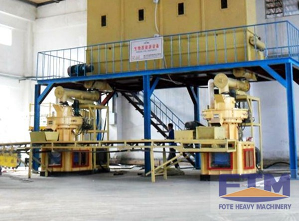 Wood Shavings Pellet Production Line/Wood Shavings Pellet Mill