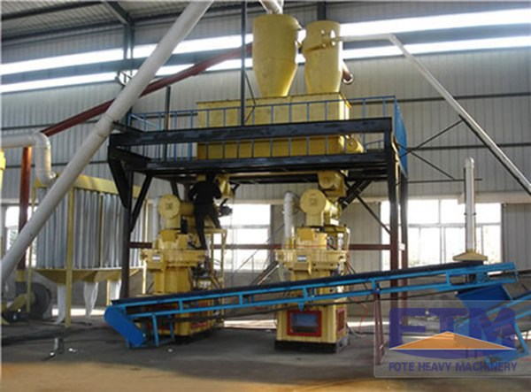 Wood Pellet Production Line/Wood Pellet Mill/2015 New Design Pellet Mill