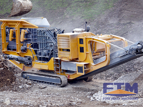 Mobile crusher/Mobile Cone Crusher Plant/Mobile Stone Crusher Plant