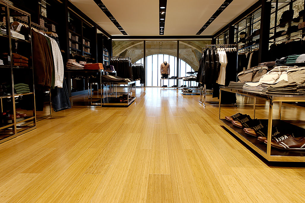 Dasso indoor engineered bamboo flooring UV treffert coating High durability floor