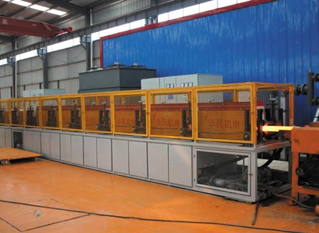 Patented Automatic Steel Grinding Rod Production Line
