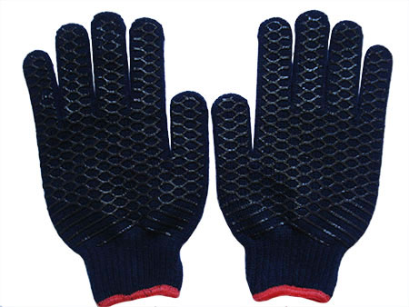 Acrylic double-sided printing rubber gloves