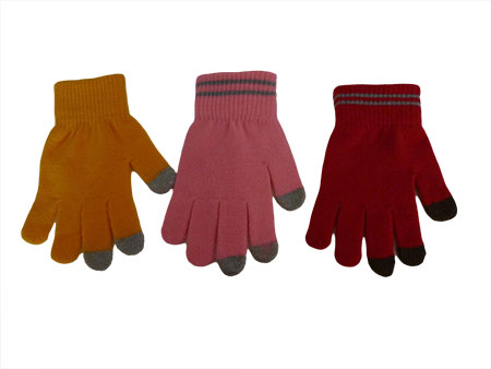 Colorful magic gloves