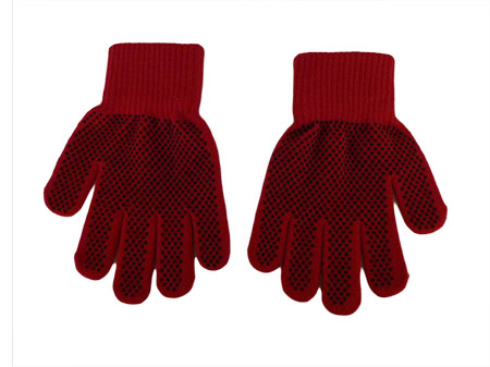 Colorfuljacquard touch screen gloves (3 figners)