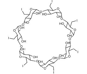 Heptakis6-?iodo-?6-?deoxy-beta-cyclodextrin