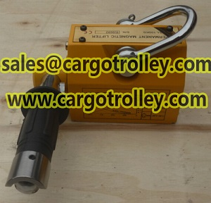 Permanent magnetic lifter with 3.5 times safety factor