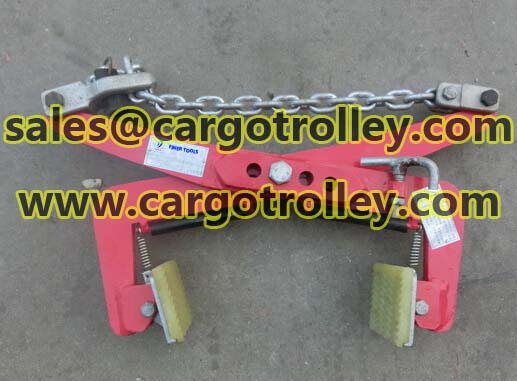Stone scissor clamps features and applications