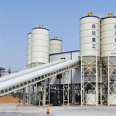 HBS180 Concrete Mixing Plant