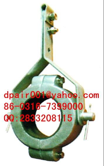 Suspension type high voltage cable clamp