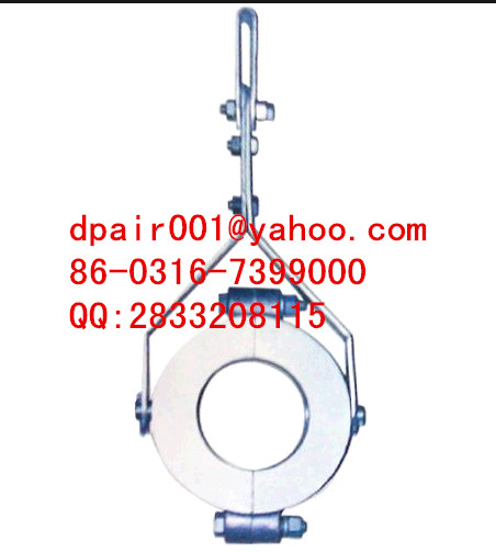 Fixed suspension JGX-3 cable clamp