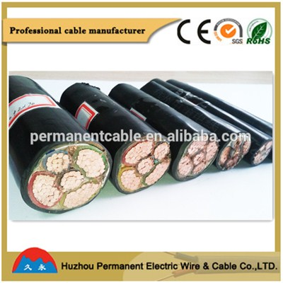 Aluminum Conduct PVC Steel Wire Armored Power Cable