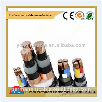 Aluminum Conduct Xlpe Steel Wire Armored Power Cable