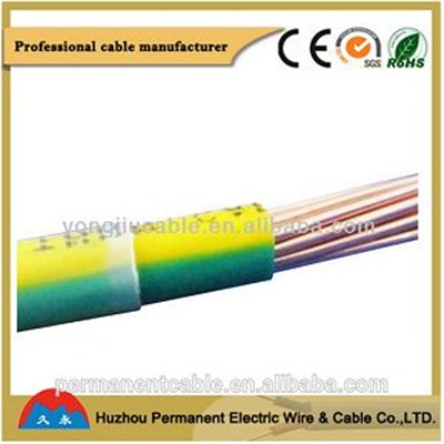 Thhn & thwn Indoor Use 105℃ PVC Solid & strand Single Wire