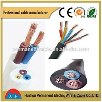 PVC Insulated Flexible Round Multi-core Cable