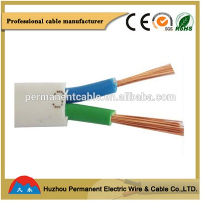 PVC Insulated Flexible Flat Sheath Cable