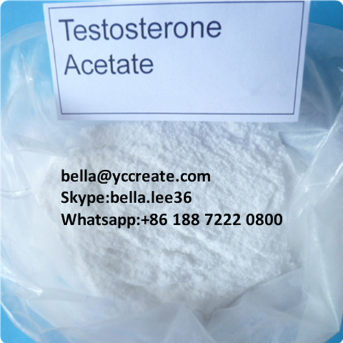Anabolic Steroid Powder Testosterone Acetate