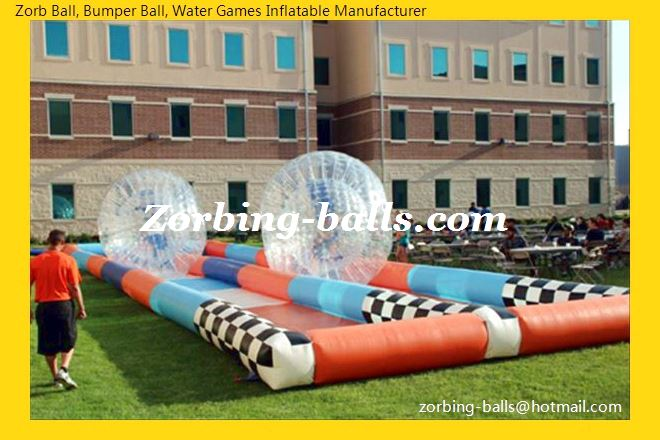 Zorb Track, Zorb Ball Race Track, Inflatable Zorb Track, Zorb Ball Racing