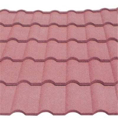 Stone coated metal roofing tile