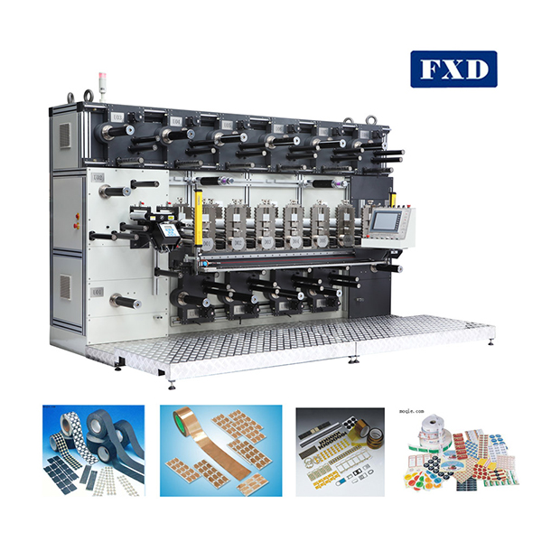 Circle knife IDPE film die cutting machine